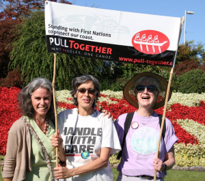 Pull Together event at Peace Arch