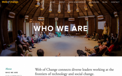 Learning from doing – 15 years of Web of Change