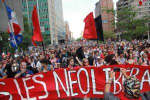 The Quebec Student Strike, photo via Brian Lapuz.