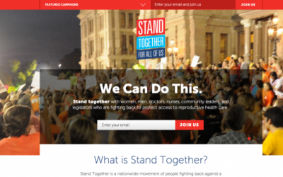 Three styles of campaigns (with wicked websites)