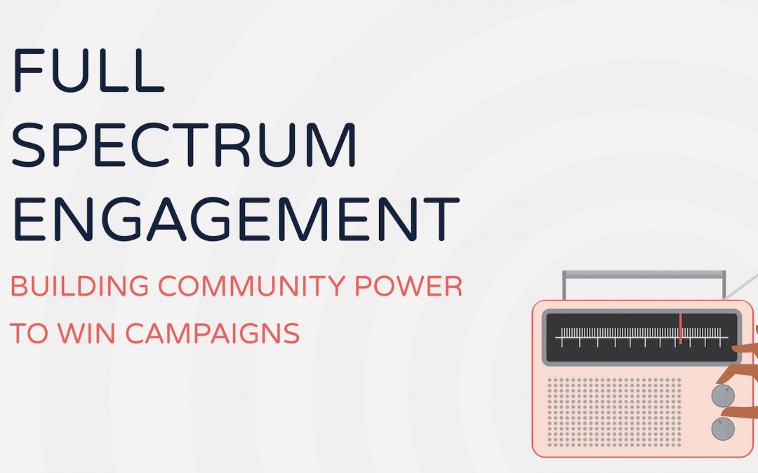 Report: a proven way to activate grassroots power and win campaigns