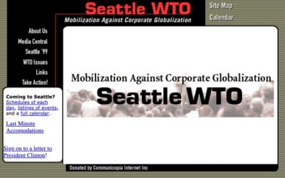 Seattle99.org: an ugly 20 year old website's online organizing legacy